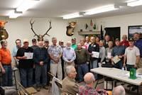 Members Awarded Certificate of Appreciation