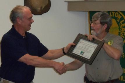 Art Foltz Presentation of Certificate of Appreciation