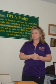 Tracie Haggerty, Facilitator for A Girl with a Gun Shooting League