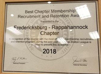 Recruit and Retain Award
