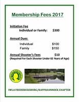 2017 Membership Fees